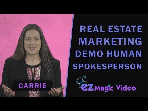 Demo Human Spokesperson Carrie - Real Estate