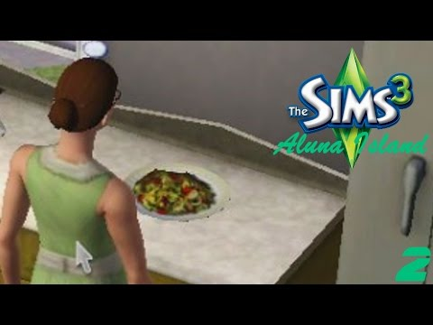 THE DISH TO WIN IT ALL   The Sims 3 Aluna Island Part 2