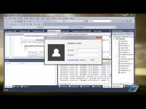 My C# Password Management Program - Eric Liang