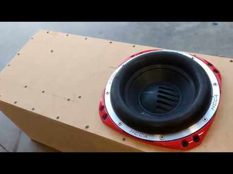 BUILDING A PORTED SUB BOX FOR THE JEEP JK WITH LLOYD