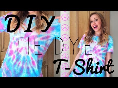 DIY - Tie Dye T-Shirts for Summer