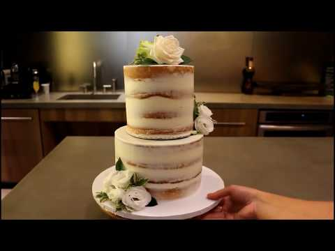 How To Make A Tiered Cake | CHELSWEETS