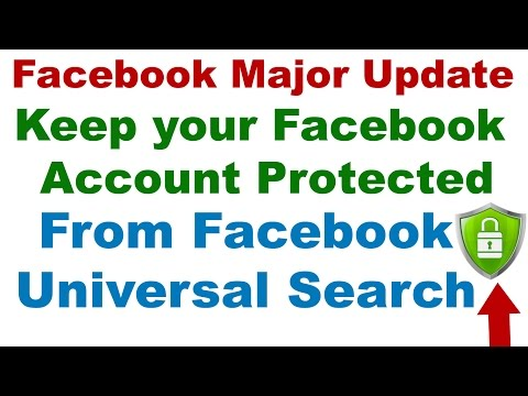 Facebook Major Update Protect Yourself From Public- Privacy/Security Settings in Facebook