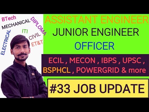 ECIL, BSPHCL, IBPS, UPSC NDA, ECIL, MECON, POWERGRID & MORE -  #33 job update