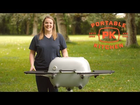 Portable Kitchen PK360 Cast Aluminum Charcoal Grill Review | BBQGuys.com