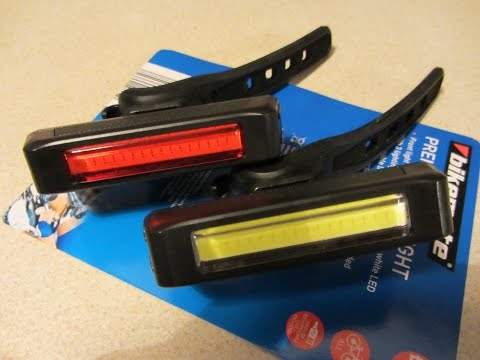 Aldi Premium Cycle Lights 2015