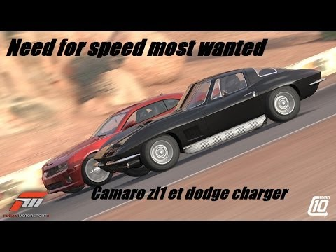Need for speed most wanted camaro and dodge charger