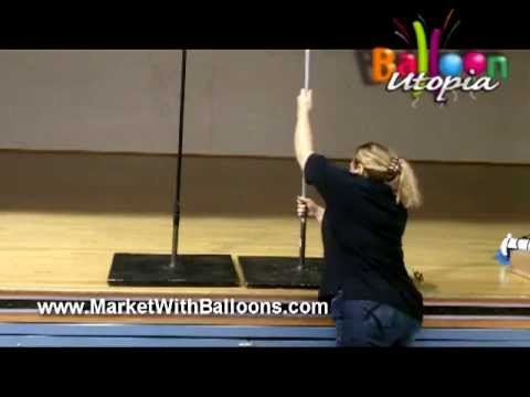 How To Make a Balloon Column Frame