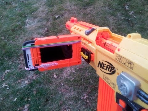 Easy Nerf Gun Cam Tutorial!