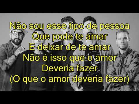 Backstreet Boys - Don't Go Breaking My Heart [tradução / português / letra]