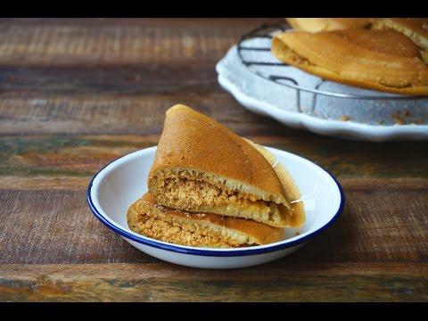Apam Balik~Pancakes Filled With Peanuts & Sugar