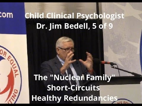 Dr. Jim Bedell, 5 of 9, The Nuclear Family Short Circuits Healthy Redundancies for Children