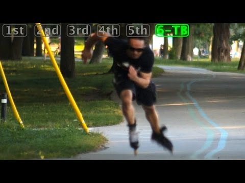 Inline Skating Faster - Six Gears Of Hardcore Skating By Bill Stoppard