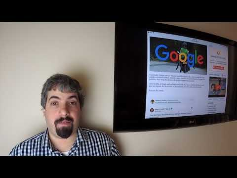 Google Search Update, AMP Penalties, Disavow Links, Larry Page Hates Manual Actions & Firefox