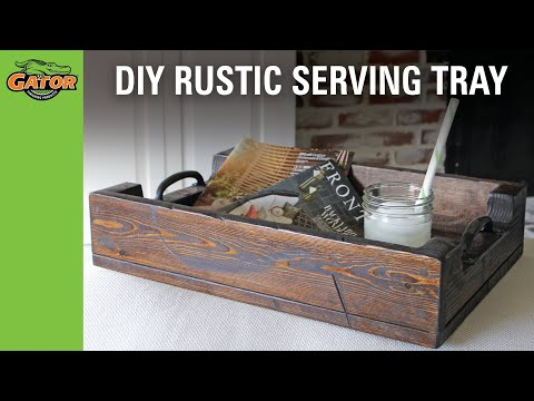 Project DIY Serving Tray
