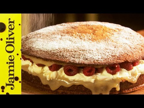 Super Simple Sponge Cake | Jamie Oliver