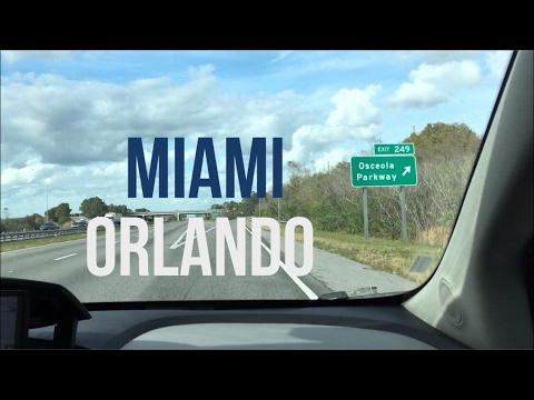 De Miami para Orlando de carro