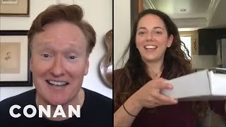 "Conan Mails Sona An ""Employee Of The Month"" Award - CONAN on TBS"