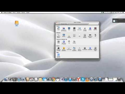 how to change touchpad and mouse settings on mac os