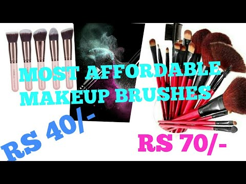 MOST AFFORDABLE MAKEUP BRUSHES || MAKEUP BRUSHES FOR BEGINNERS|| VEGA MAKEUP BRUSHES.