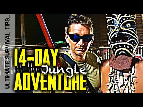 E1 - EPIC 14-Day JUNGLE BUSHCRAFT ADVENTURE Begins - NOW!