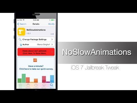 NoSlowAnimations iOS 7 Jailbreak Tweak: Hands-on - iPhone Hacks
