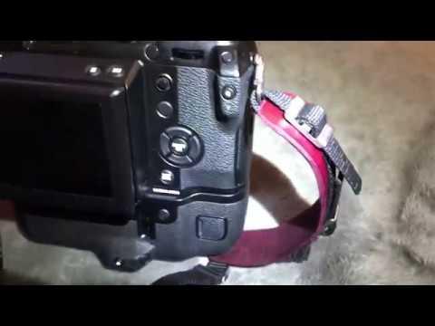 😘 DIY: Camera hand-strap. Nylon or Leather for Fuji GFX, X-T2, X-Pro2