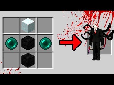COMO INVOCAR O SLENDERMAN NO MINECRAFT ! (CUIDADO) - CreepyPasta
