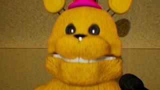 those nights at fredbears remake golden animatronics jumpscare