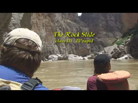 Rafting in Santa Elena Canyon, Big Bend National Park