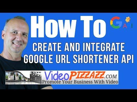 How to Create and Integrate Google URL Shortener API - VidSkippy