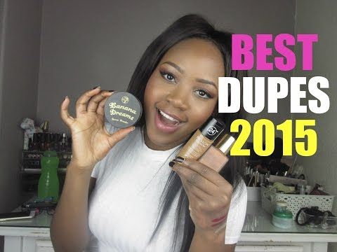 BEST DRUGSTORE DUPES OF 2015