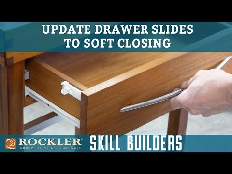 Update Drawer Slides with Soft-Closers - Rockler Skill Builders