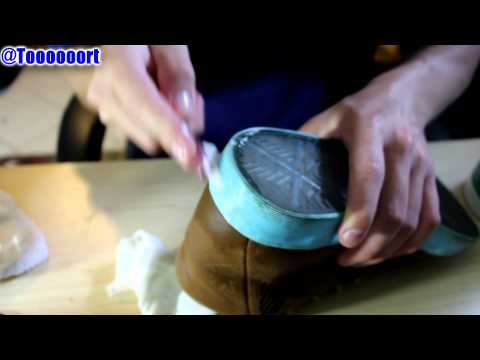 How I Clean my shoes w/ Household Supplies