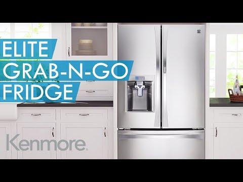 Kenmore Elite Grab-N-Go™ Refrigerator
