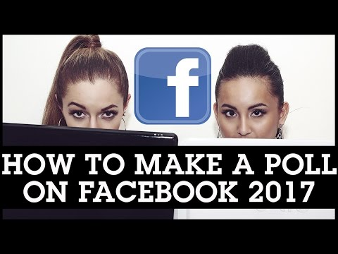 How To Make a Poll on Facebook 2017