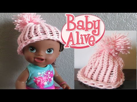 BABY ALIVE DIY How To Make A Beanie💕