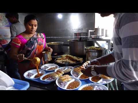 A Pav Bhaji Making Master shows us his Indian Street Food Recipe at
