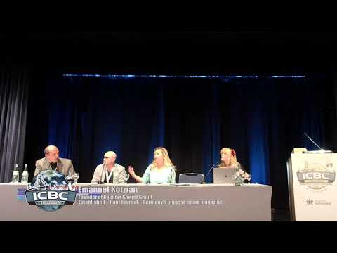 CBD IN EUROPE AND BEYOND PANEL DISCUSSION moderated by Mary Patton ICBC Berlin 2018