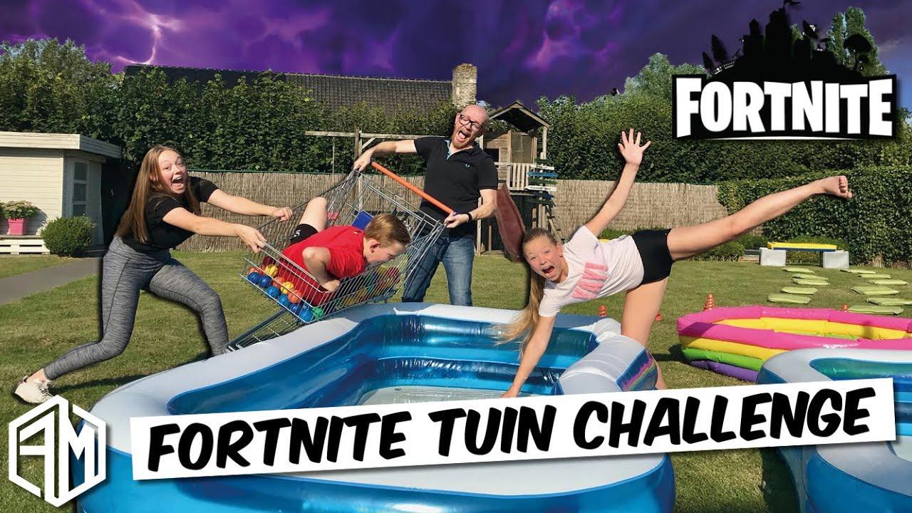 FORTNITE tuin challenge - Kids Challenge 2019 #18