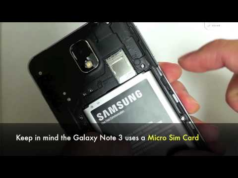 Unlock Samsung Galaxy Note 3 - How to Unlock Galaxy Note 3 (N900, N900W8, N9005, N900T, SN900)