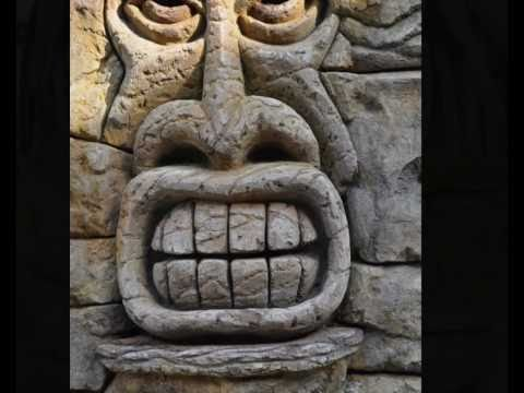 Tiki Works Carving the