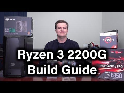 Ryzen 3 2200G - $400 Build - Part 1 - Parts Overview