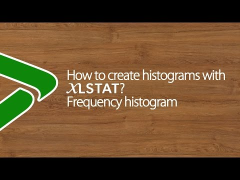 How to create histograms with XLSTAT? Frequency histogram