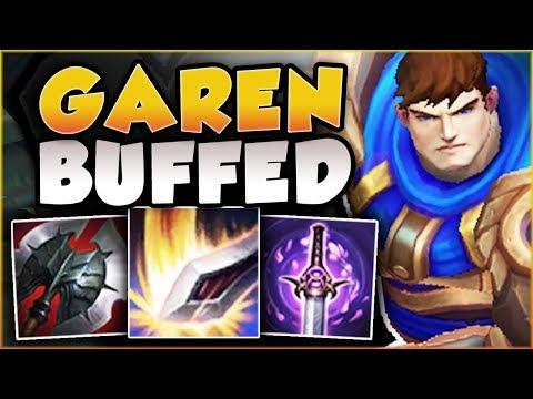WTF?? RIOT 100% GAVE TOO MUCH DMG TO GAREN Q! BUFFED GAREN SEASON 8 TOP GAMEPLAY! League of Legends