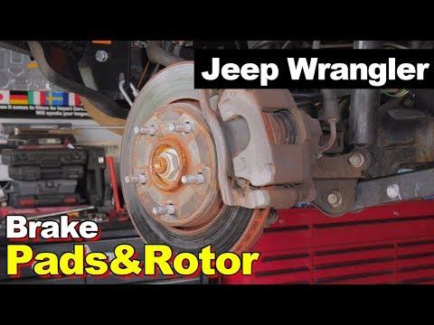 2007 Jeep Wrangler JK Brake Pads, Rotors, Calipers, ABS Sensors, Brake Hoses