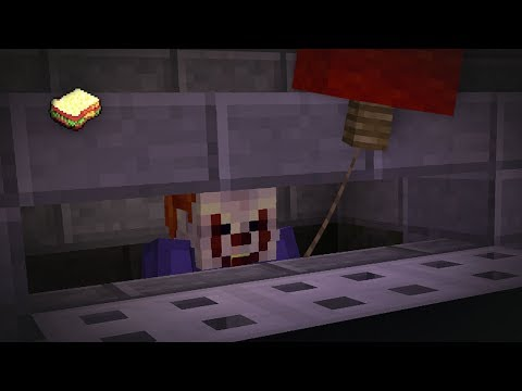 Minecraft | How to make Pennywise sewer | Halloween Special