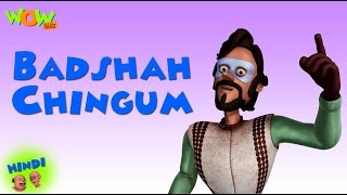 Badshah Chingam - Motu Patlu in Hindi - 3D Animation Cartoon for Kids -As on Nickelodeon