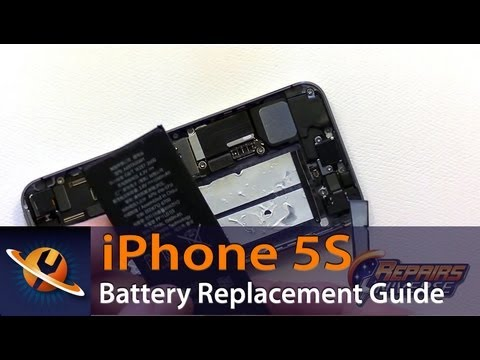 iPhone 5S Battery Replacement Guide