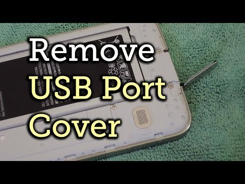 Safely Remove the Charging Port Cover on Your Samsung Galaxy S5 [How-to]